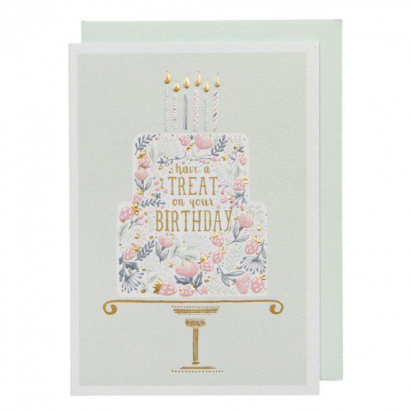 Have A Treat Cake Birthday Card Birthday Cards Birthday Card Online Cute Birthday Cards