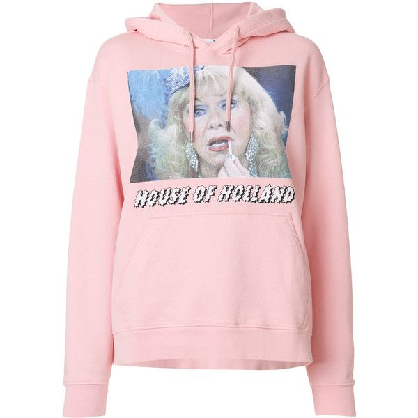photo print hoodie - Pink & Purple House Of Holland Discounts Online Cheap Price Fake Exclusive Shopping Online nPXR8xy