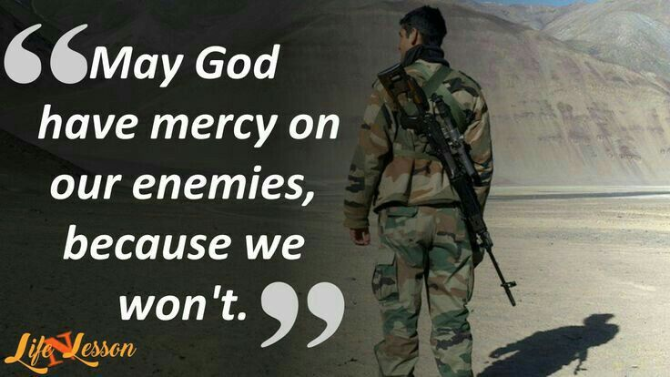 Pak Army the world famous Army quotes, Indian army