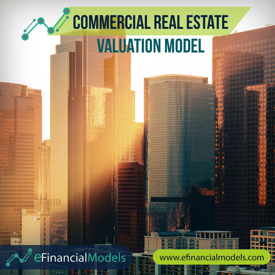 Commercial Real Estate Valuation Model Efinancialmodels Commercial Real Estate Real Estate Property Valuation