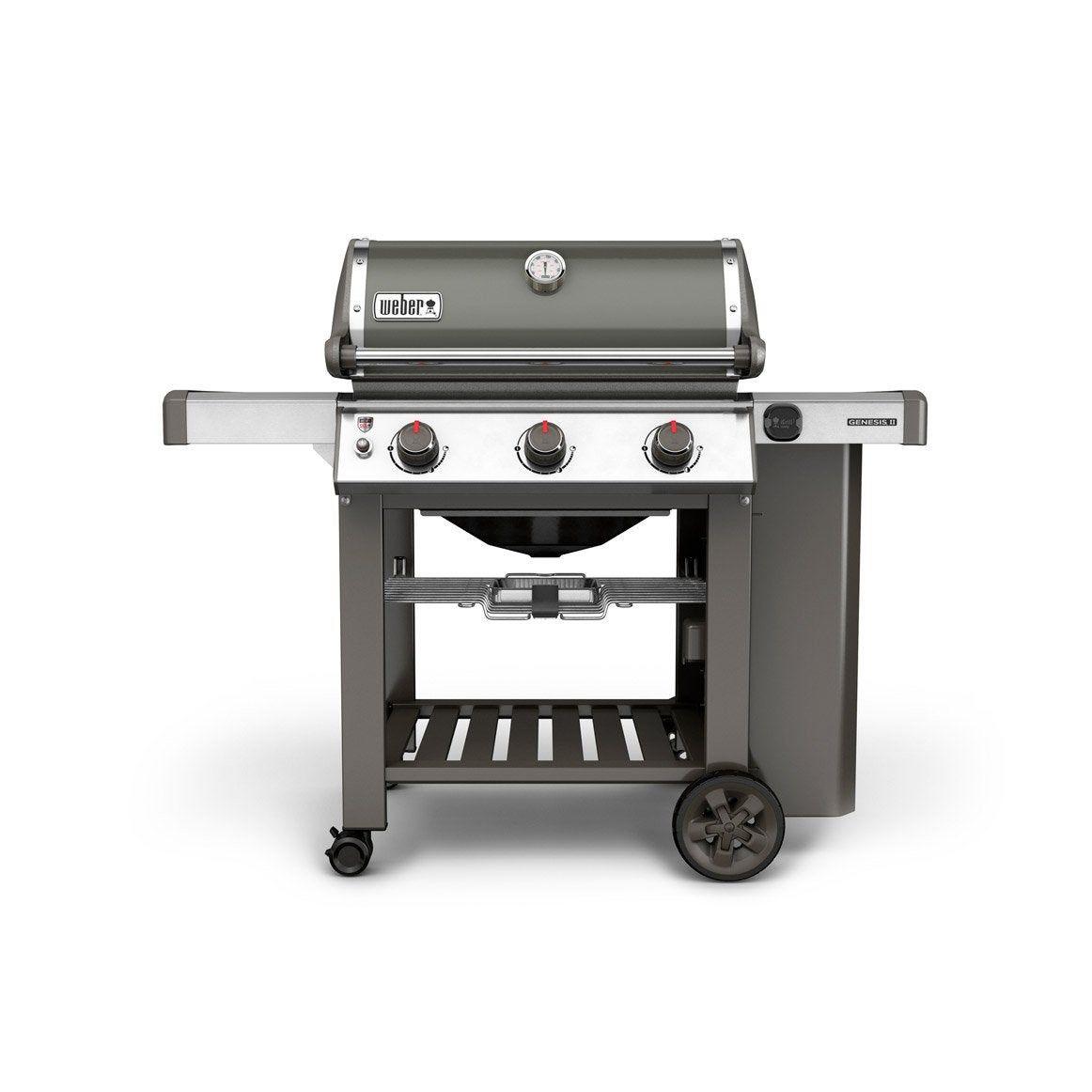 Barbecue Au Gaz Weber Genesis Ii E 310 Gbs Gris En 2019