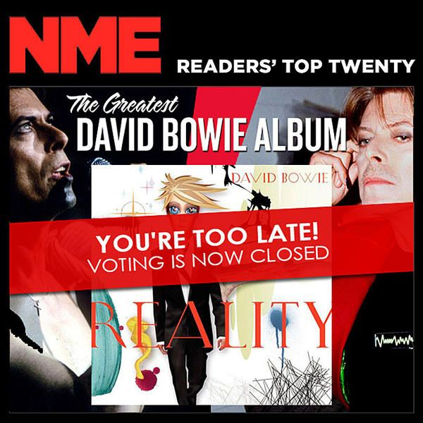 What's your favorite David Bowie album? Get the results of a recent fan poll from NME.
