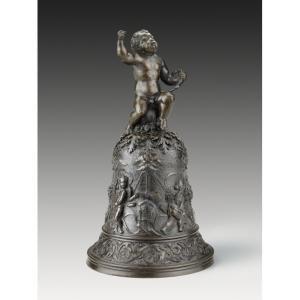 Gian Girolomo Grandi (1508 - 1560) Hand Bell, 1507-1516 bronze