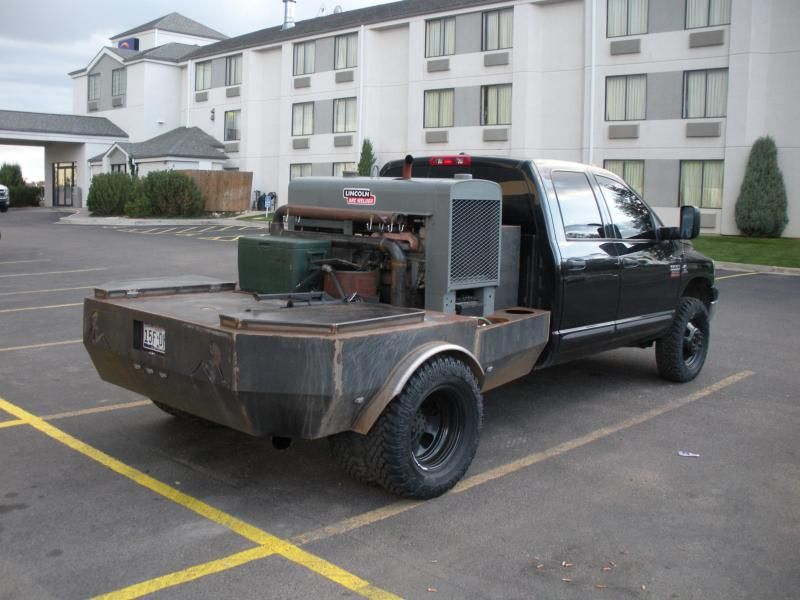 Dodge 3500 Dually Diesel 4x4 Welding Rig Truck For Sale ...