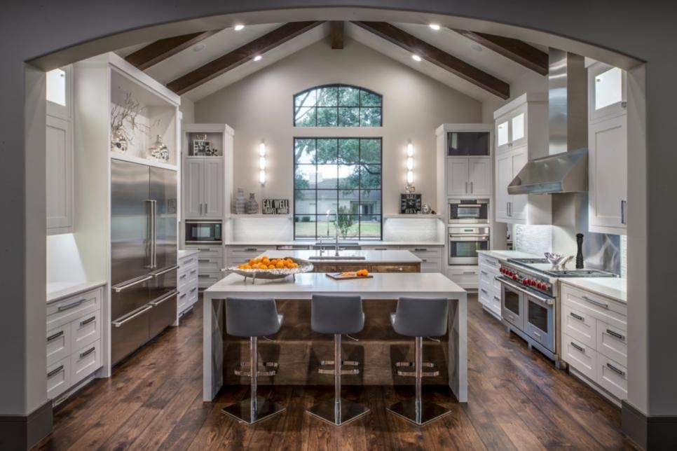 Our Favorite Modern Kitchens From Top Designers Hgtv, Kitchens and