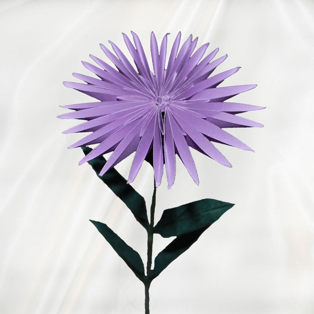 Origami aster origami flowers pinterest origami origami origami aster flower ballorigami dhlflorist Image collections