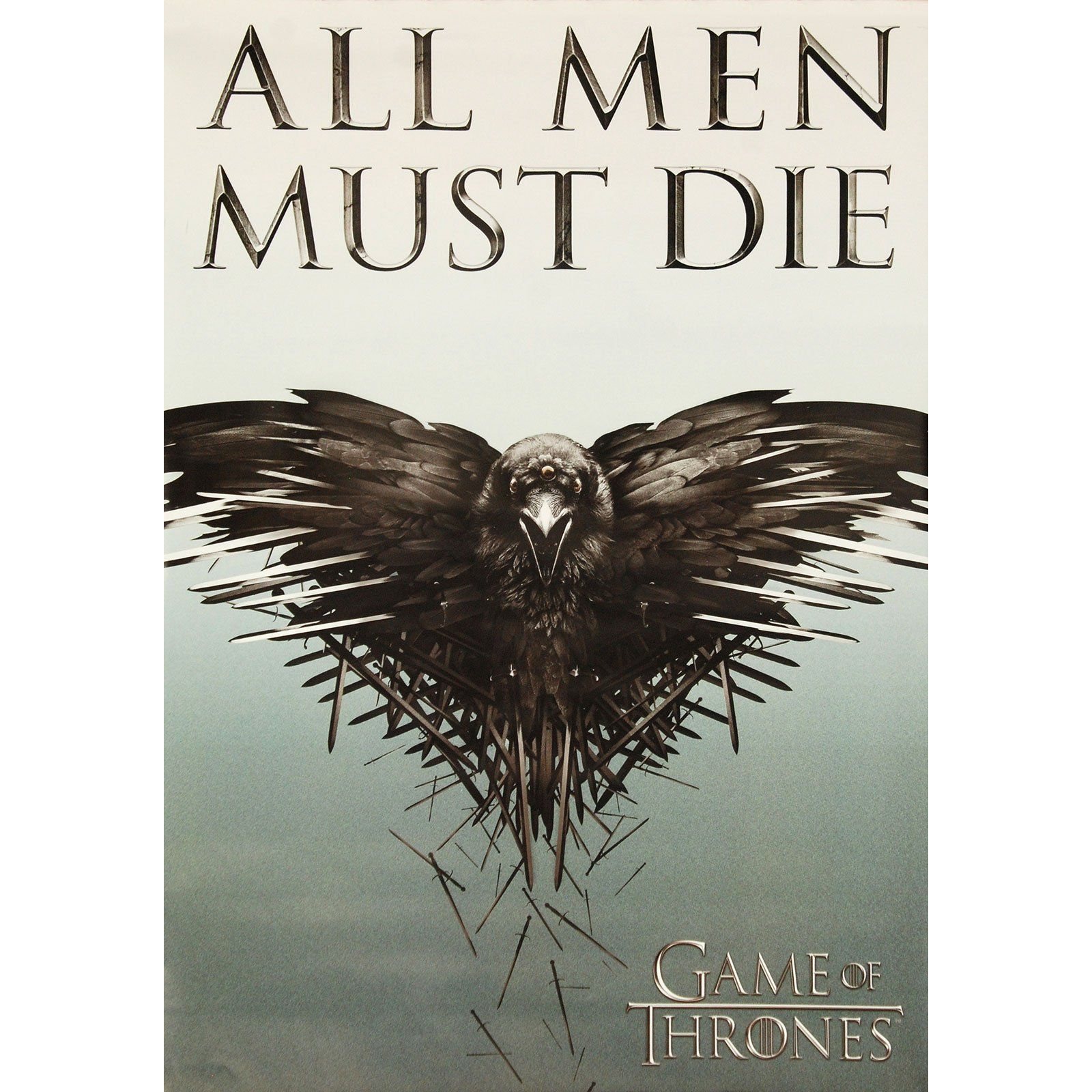 All Men Must Die Domestic Poster In 2021 Game Of Thrones Poster Game Of Thrones Game Of Thrones Fans