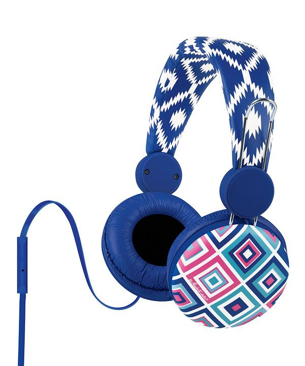 Look at this India Beach Over-Ear Headphones on #zulily today!
