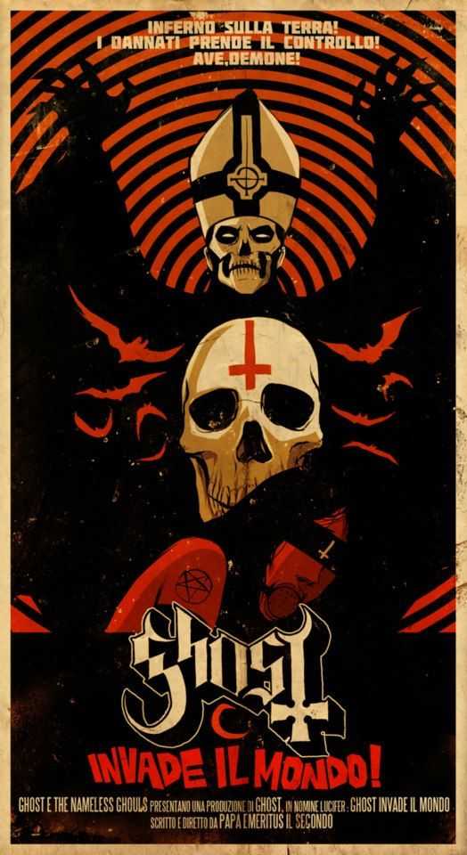 Connu Title: Ghost Invade Il Mondo! Artist: Daniel Vega | Skulls  FM42