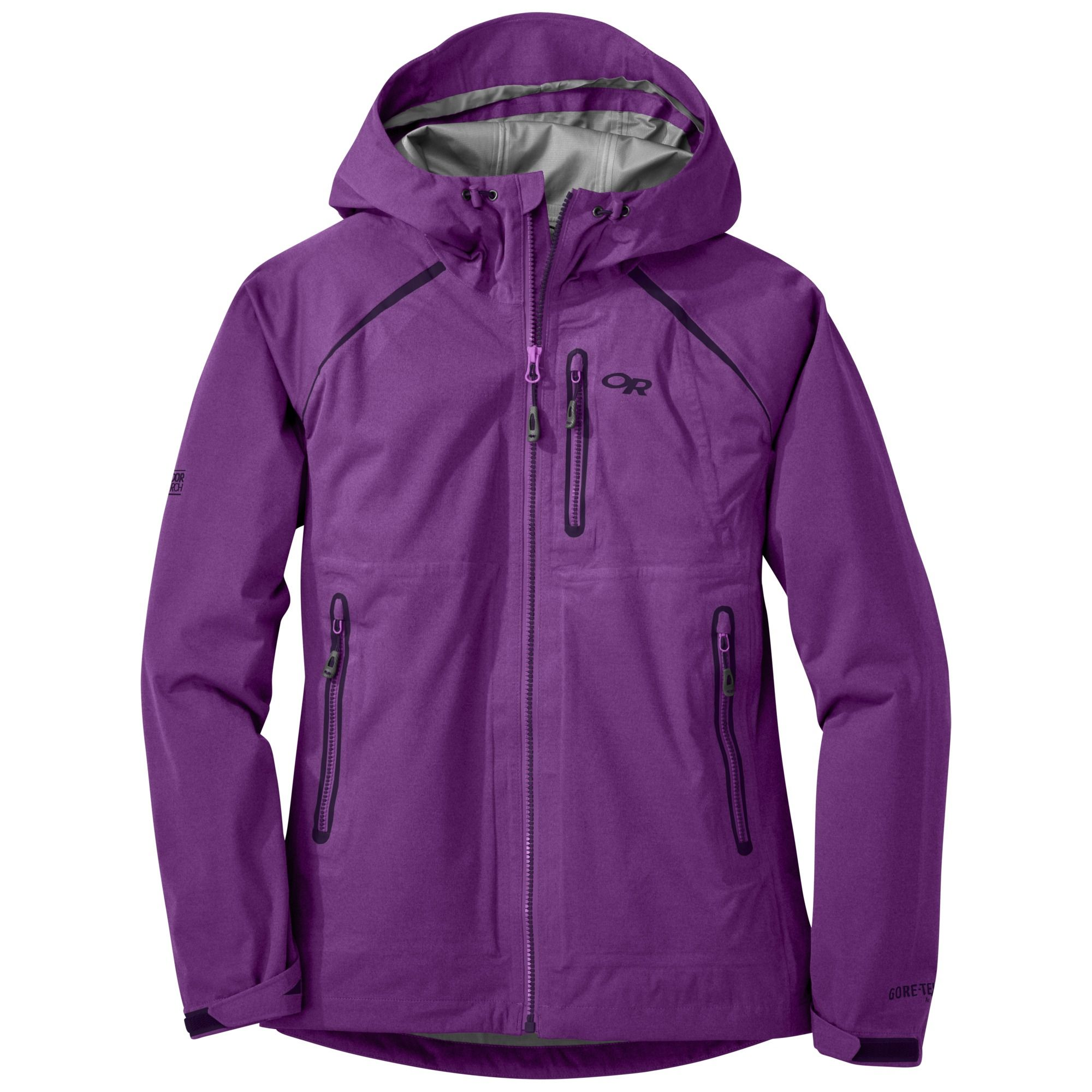 Womenus clairvoyant jacket wisteria outdoor research goretex or