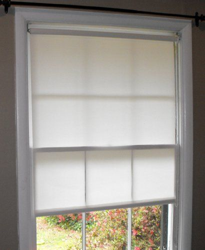 Pure White Window Roller Shades 24 X 72 By Top Blinds 28 59 For An Inside Mount You Must Order An Exact S Window Roller Shades White Windows Roller Shades