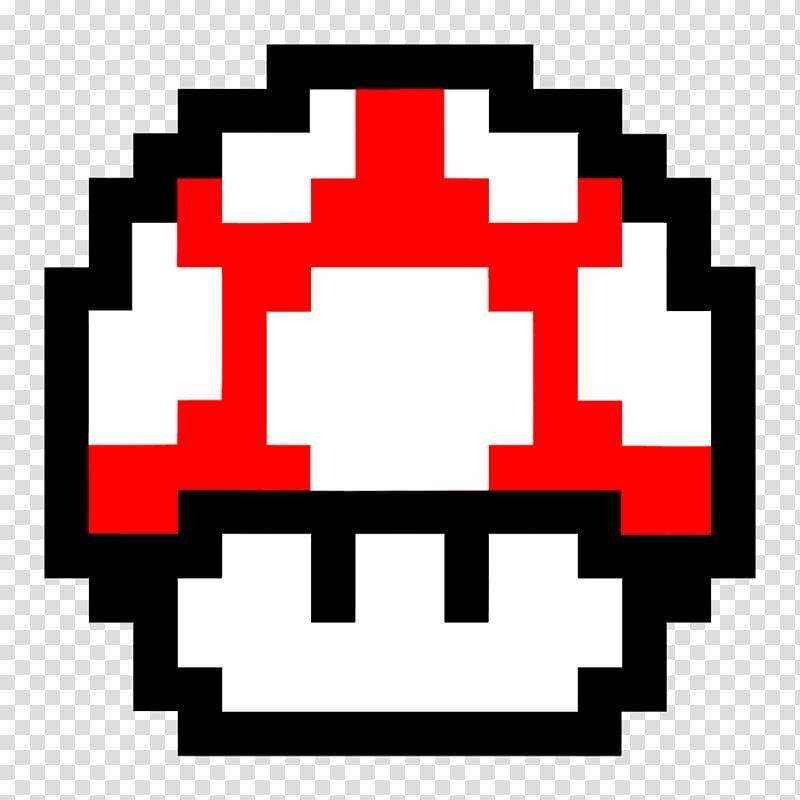 Red And White Super Mario Mushroom Illustration Super Mario