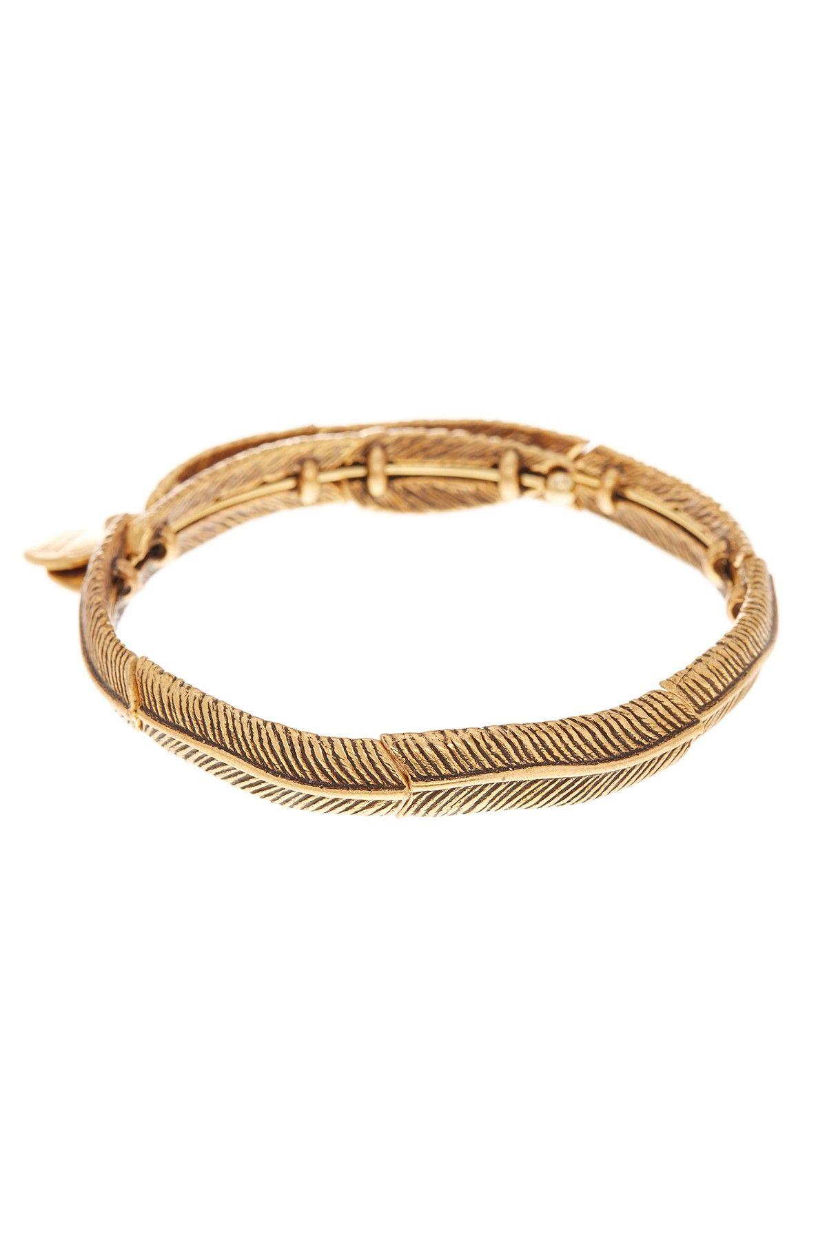 Alex and ani u feather spirit wrap bracelet alex and ani