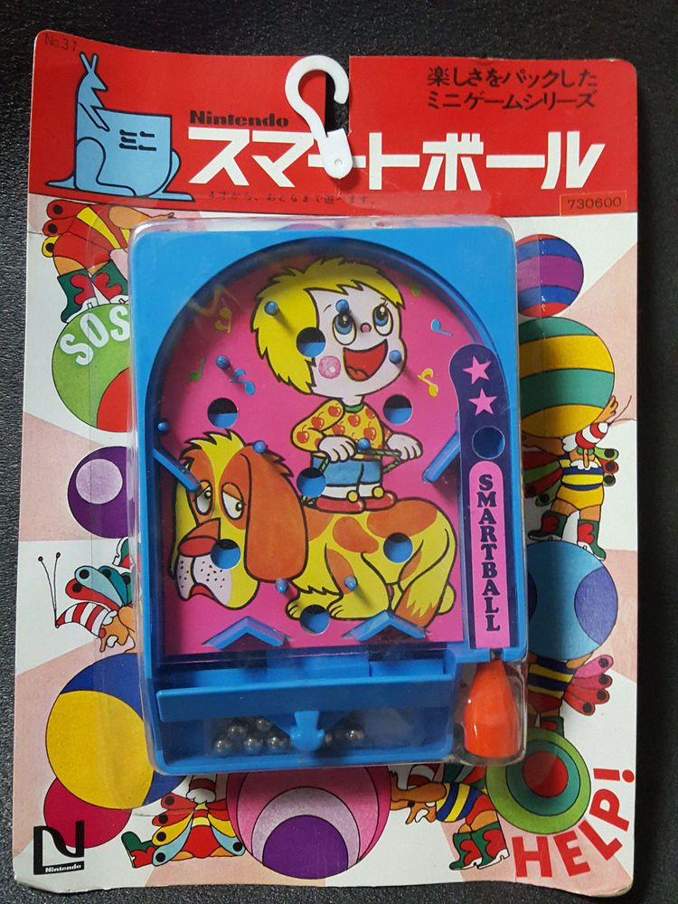 1970 Old Nintendo SMART BALL Super Rare Japan Old Toy Game