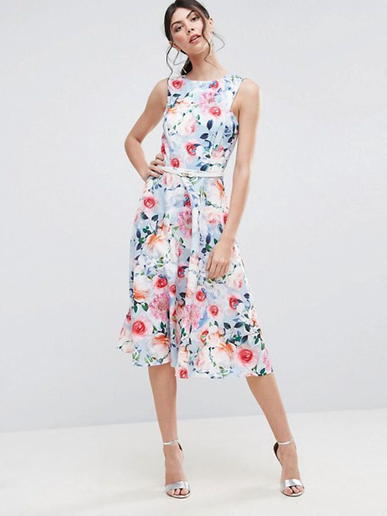 Guest Attire 15 Floral Dresses Perfect For Summer Weddings Floral Dress Wedding Guest Guest Attire Wedding Guest Dress Summer