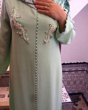 خطوبة كويتيات الخبر السعودية الكويت الامارات دبي تصميم لبنان تونس مصممين مصر المغرب قفطان جلابيات مكه الم Moroccan Clothing Moroccan Dress Traditional Fashion