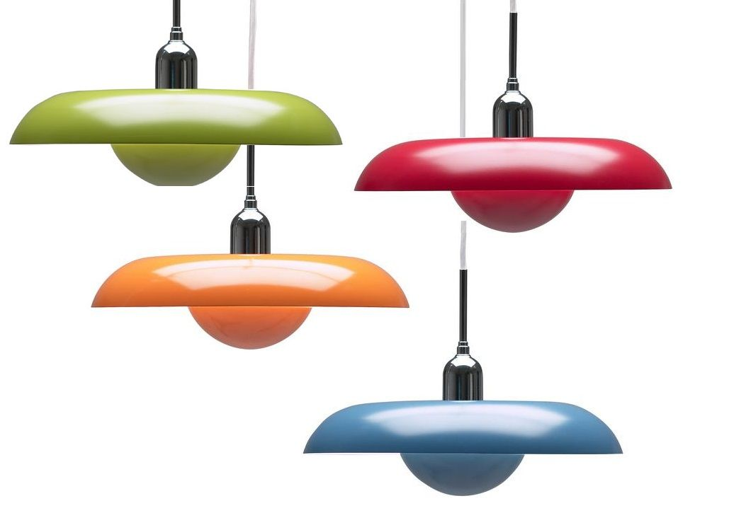 Piet Hein - The Ra lamp exist in many different colours - Choose your favorite and put some colour into your life and home. Designed by Piet Hein