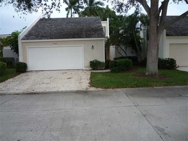 Here is a very affordable custom built golf home with two beds and two baths