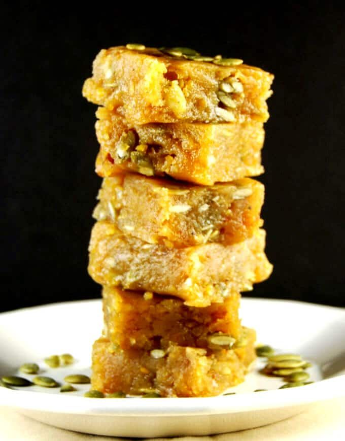 Chana Dal Burfi A Vegan Indian Sweet