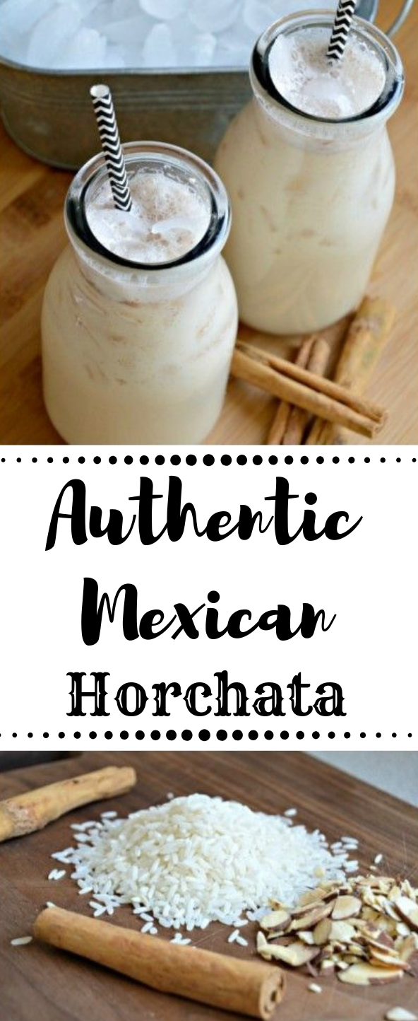 Photo of Horchata (Authentic Mexican Recipe) #drink #delicious #fresdrink #healthy #party