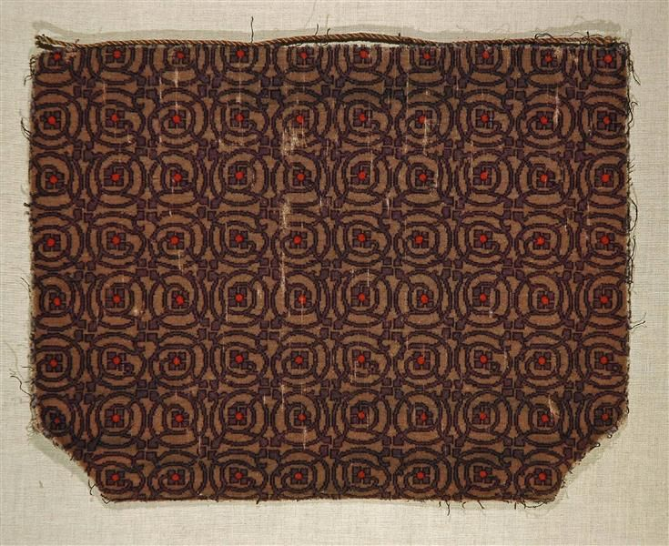 Mobelbezugsstoff Fragment Riemerschmid Richard 1868 1957 Entwurf Munchen Um 1906 Kunstgewerbemuseum Inventory Numb Online Collections Collection Fabric