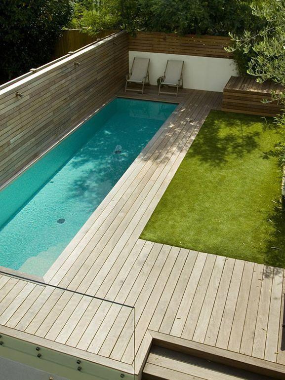 Piscina Piscinas Swimming Pools Backyard Backyard Pool Small Pool Design