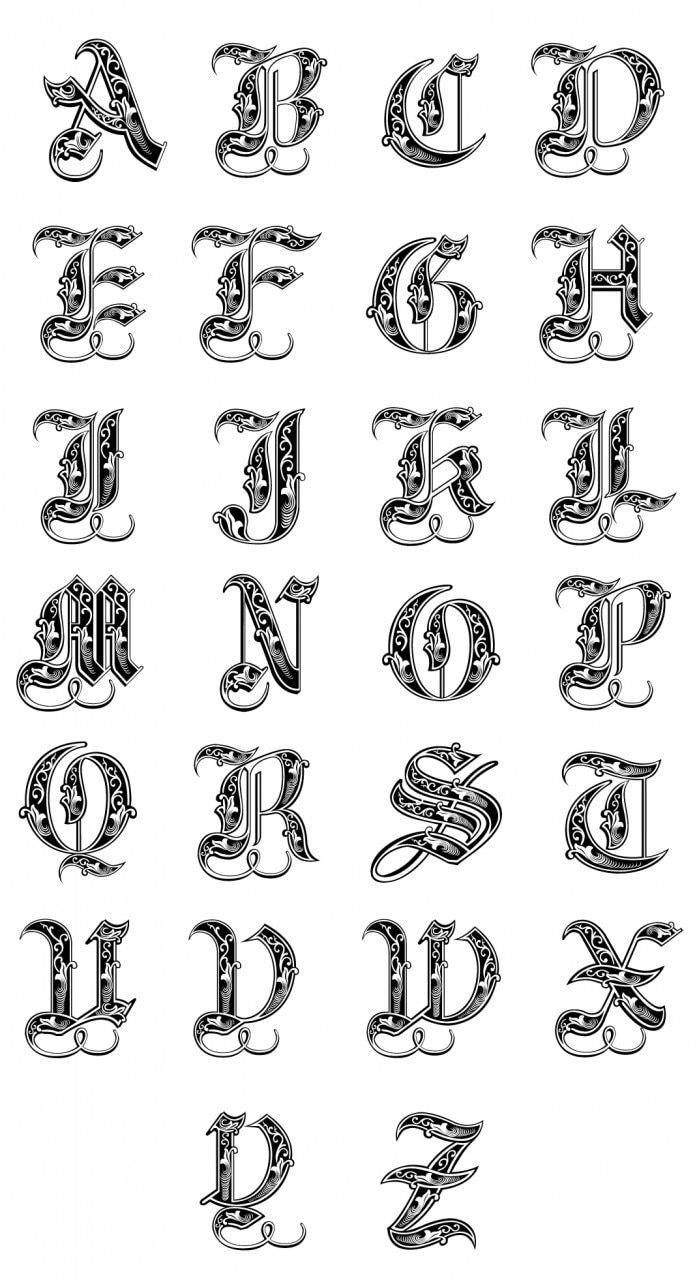 Disenos De Letras Cursivas Para Tatuajes Lineas Letras Bonitas Para Tatuajes Letras Para Tatuajes Tipos De Letras