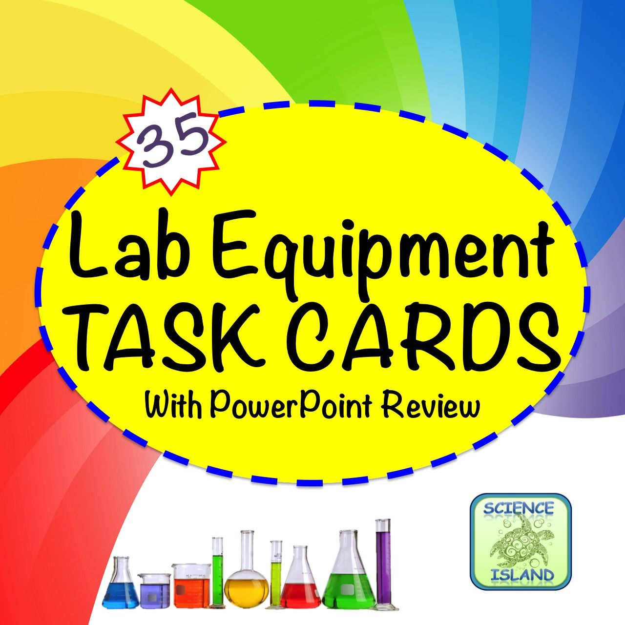 Lab Equipment Task Cards Biology And Life Science Activity