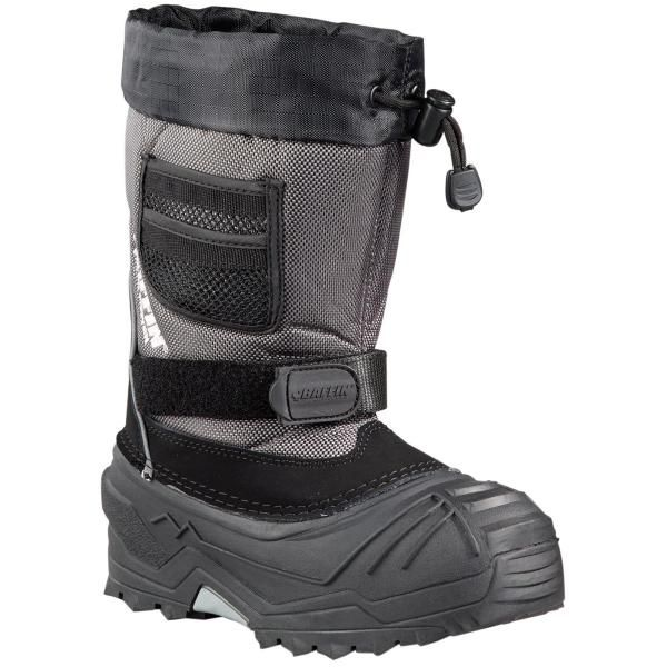 ac056ba013 Baffin Junior Young Explorer Sizes 3-8 | Pewter | Winter Fun for the ...
