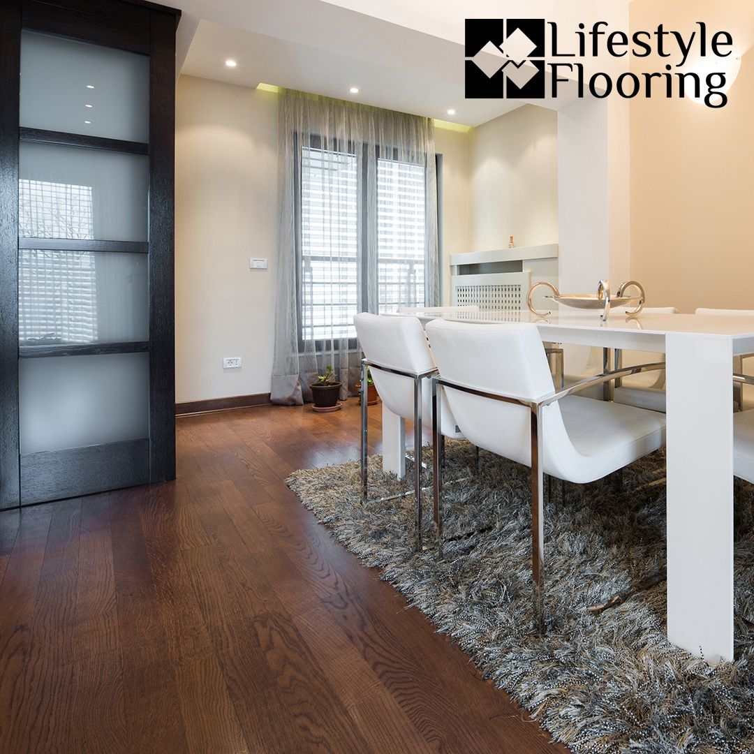 Modern Dining Room With Bentley Lvt Installed In