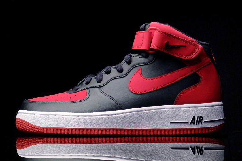 Nike Air Force 1 Mid 07 - Bred