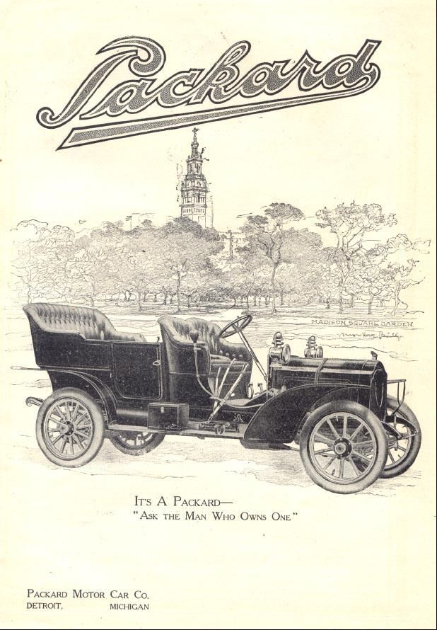 Packard - vintage ad