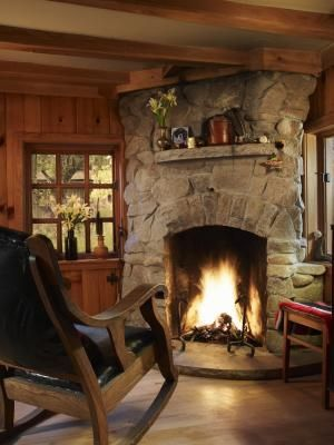 How To Brighten And Lighten A Stone Fireplace In 2020