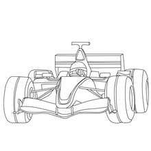 Formula One Free Coloring Book Coloring Pages Race Car Coloring Pages Cars Coloring Pages