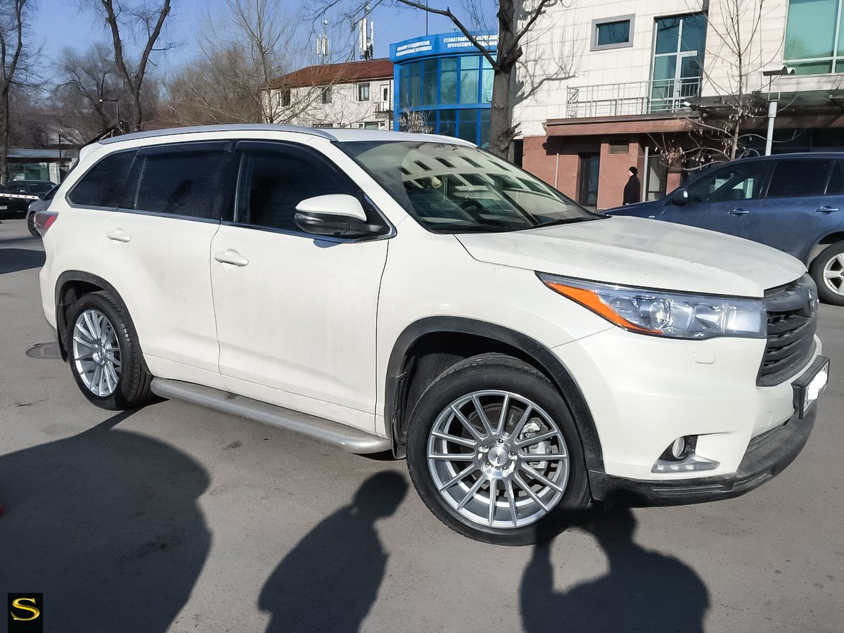 toyota highlander white custom wheels Google Search
