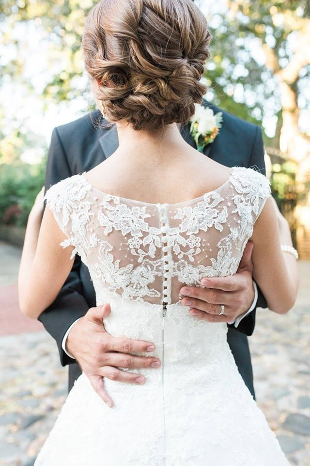 Real Bride Julie From The Gown Boutique Of Charleston Photo
