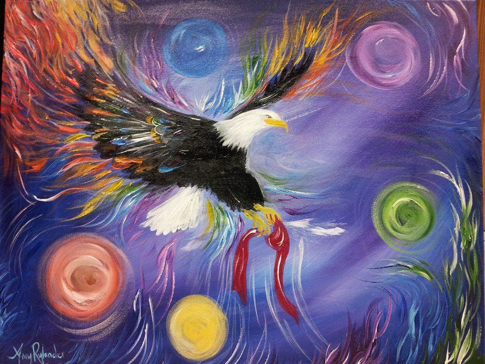 I saw Jesus the Apostle releasing mantles...circles are the angelic help and 5 for grace the colors  of the circles are the… | Prophetic art, Kingdom hearts art, Art