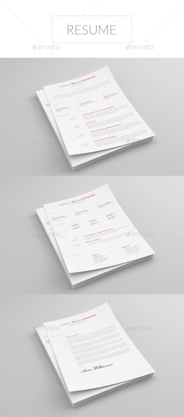 Resume Design Idea Template - Resumes Template PSD. Download here ...