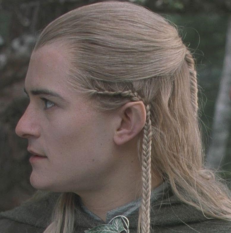 Inspo Diy Legolas Hair Tutorial The White Hot Room Elven Hairstyles Elf Hair Hair Tutorial