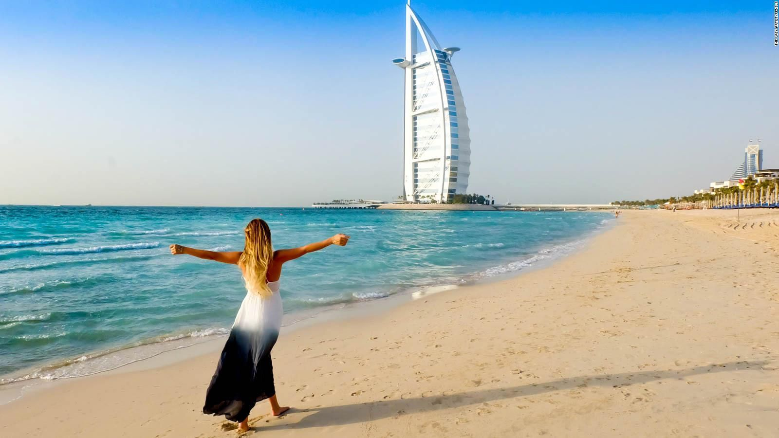 Dubai Beach Images Hd in 2020 Dubai beach, Cnn travel