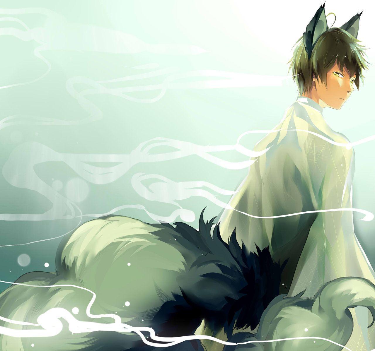 Fox spirit by pokeguin on deviantART Anime Pinterest
