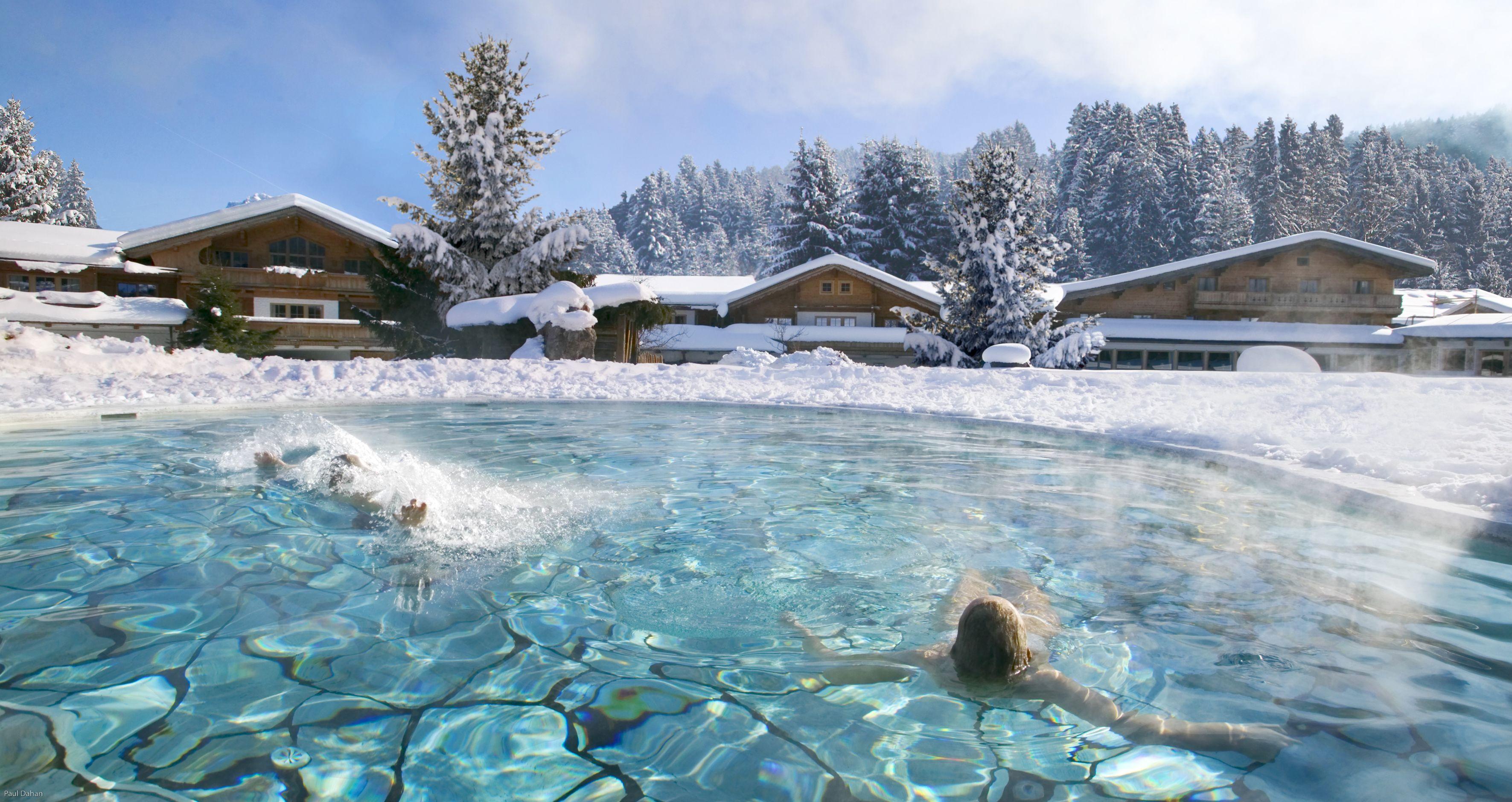 Swimming pool, #Winter, #Swimming pool, (via @stanglwirt) - www ...