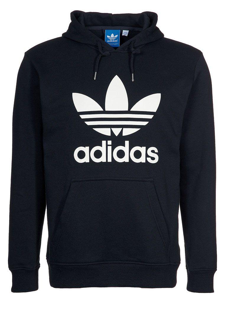 Adidas Originals Kapuzenpullover Black White Zalando Ch Mens Outfits Adidas Hoodie Adidas Fashion