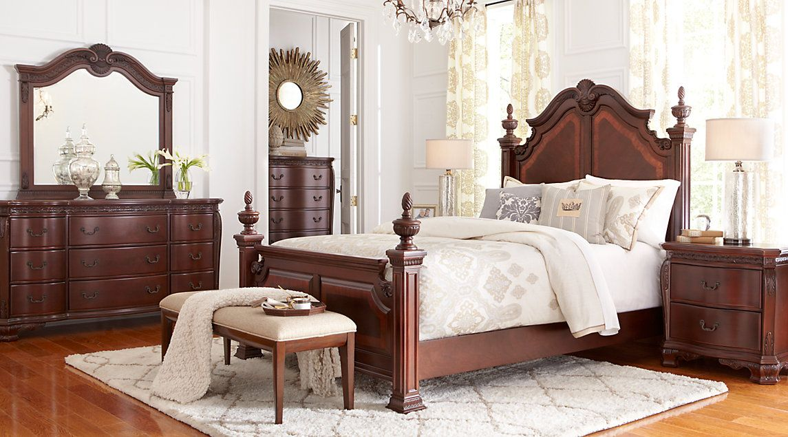 Shop For Affordable Dark Wood King Bedroom Sets At Rooms To Go Furniture.  Find A Variety Of Styles, Options And Colors For Sale.