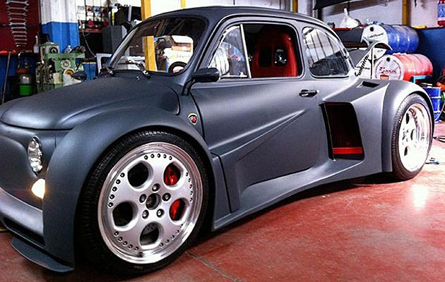 Fiat 500 Lamborghini V12 Oh Yeah A Fiat To Get Excited About