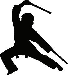 Ninja Silhouette Silhouette Of Ninja Martial Arts Workout Filipino Martial Arts Silhouette Images