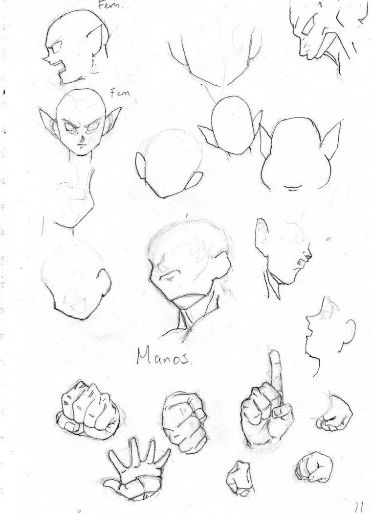 Dragon ball reference material songokukakarot