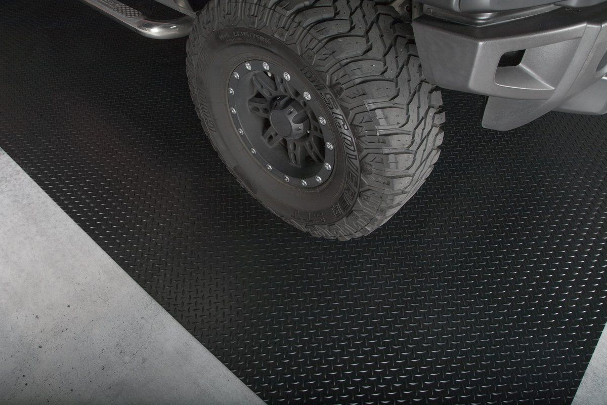 Can I Drive on this Floor Covering? Garage mats, Car