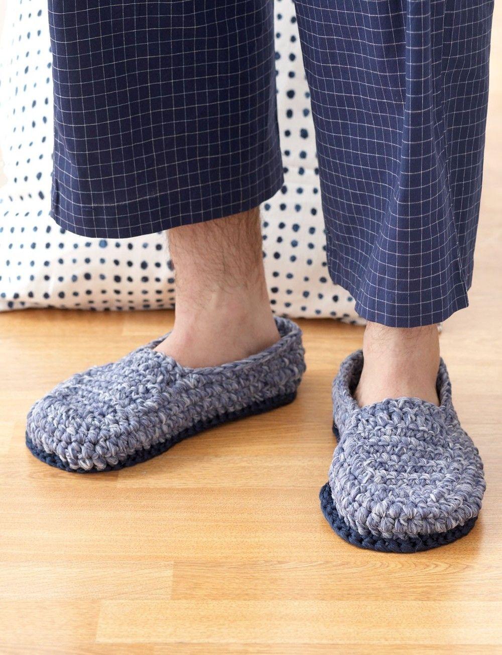 Crochet House Shoes | Crochet zapatos, Blusas en crochet y Zapatos ...