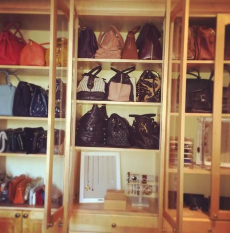 Tips On How To Organize Your Handbags And Jewelry #accessories #designer # Handbags